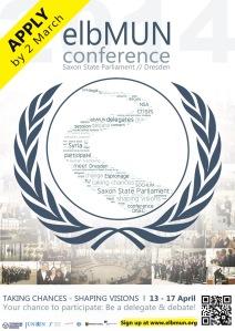 elbMUN 2014 poster